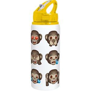 Emoji sports mug in aluminum