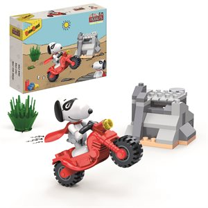 Peanuts Snoopy with motorcycle 56pieces