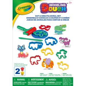 Crayola cut & create animal set