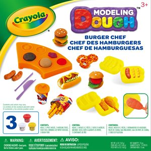 Crayola burger chef