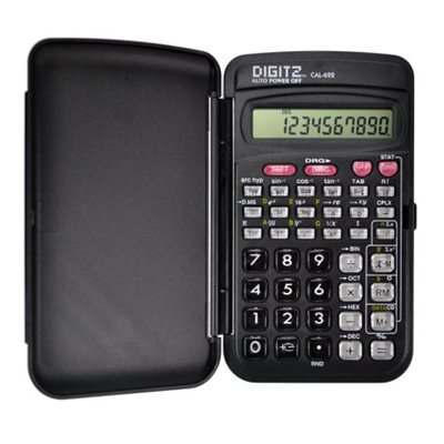 Scientific calculator 56 functions