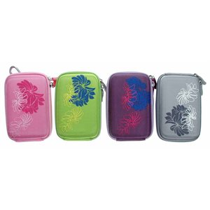Digital camera case; 4 assorted designs