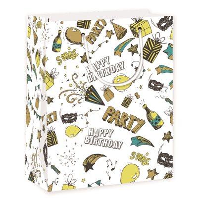Birthday Medium Gift Bag