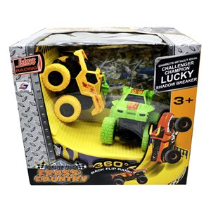 FRICTION POWER 4WD CAR,red,yellow,green