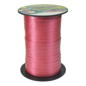 320M Curl Ribbon Satin Red