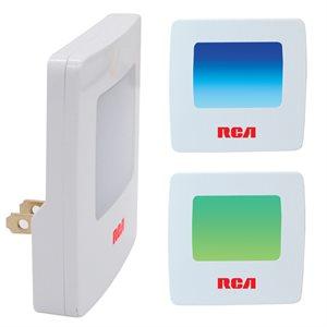 Veilleuse DEL a 2 couleurs de RCA