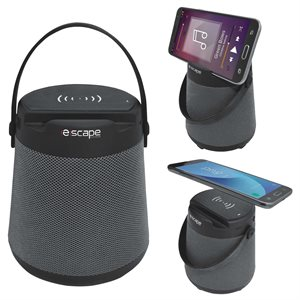 Wireless hands free speaker and wirelss charger with Fm radio